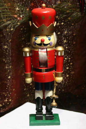 christmas military: Red Nutcracker