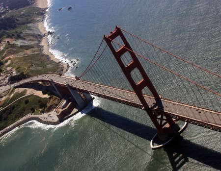ゴールデン ゲート ブリッジやフォート ポイント、San Francisco、カリフォルニア州
