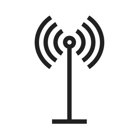 Antenna vector image to be used in web applications, mobile applications and print media.