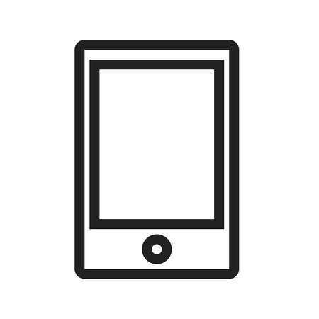 Tablet vector image to be used in web applications, mobile applications and print media. Stock fotó - 37574345