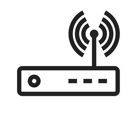 Router vector image to be used in web applications, mobile applications and print media.