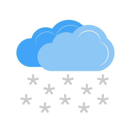 重い積雪ベクトル画像の推奨は、web アプリケーション、モバイル アプリケーションの使用し、印刷メディア。