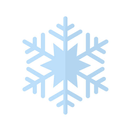 Snowflake vector image recommended for use on web applications, mobile applications, and print media. 矢量图像