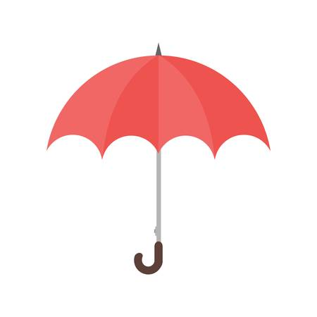 Umbrella vector image recommended for use on web applications, mobile applications, and print media.