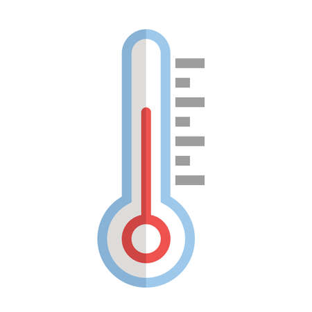 celsius: Thermometer vector image recommended for use on web applications, mobile applications, and print media. Illustration