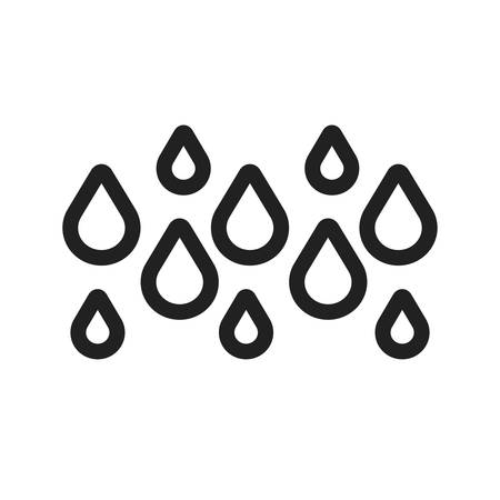 condensation: Rainy vector image to be used in web applications, mobile applications, and print media. Illustration