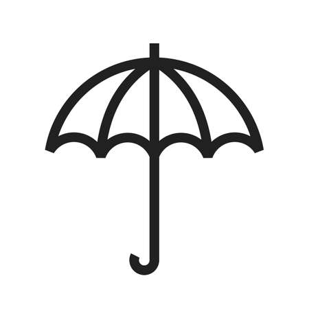 condensation: Umbrella vector image to be used in web applications, mobile applications, and print media.