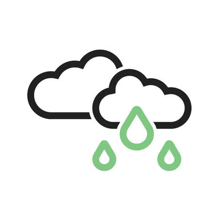 condensation: Light Rain vector image to be used in web applications, mobile applications, and print media. Illustration