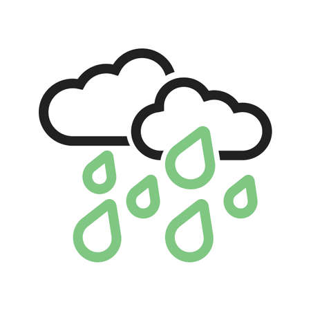 heavy rain: Heavy Rain vector image to be used in web applications, mobile applications, and print media.