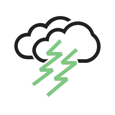 condensation: Lightning vector image to be used in web applications, mobile applications, and print media. Illustration