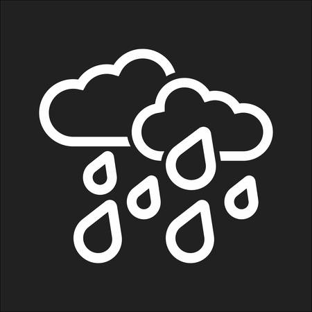 heavy rain: Heavy rain vector image to be used in web applications, mobile applications, and print media. Illustration