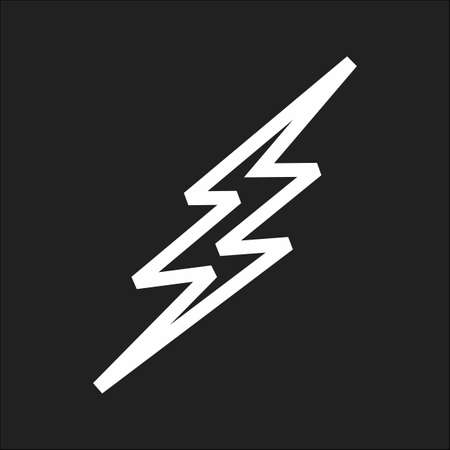 bolt: Lightning, bolt, thunder icon vector image. Can also be used for weather, forecast, season, climate, meteorology. Suitable for web apps, mobile apps and print media.