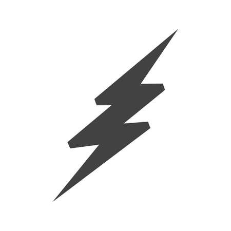 ライトニング ・ ボルト、雷のアイコン ベクトル画像。また、天気予報、季節、気候、気象学のために使用できます。Web アプリケーション、モバイル アプリケーション、印刷メディアに適しています。 写真素材 - 38330344