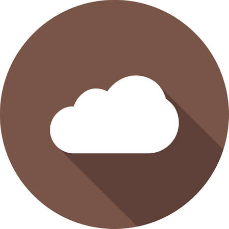 partly: Cloud, rain, cloudy, partly, sky icon vector image. Can also be used for weather, forecast, season, climate, meteorology. Suitable for web apps, mobile apps and print media.