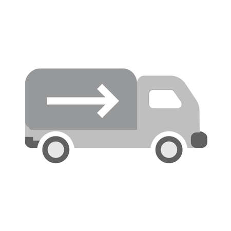 Truck, drive, vehicle, lorry icon vector image. Can also be used for ecommerce, shopping, business. Suitable for web apps, mobile apps and print media.