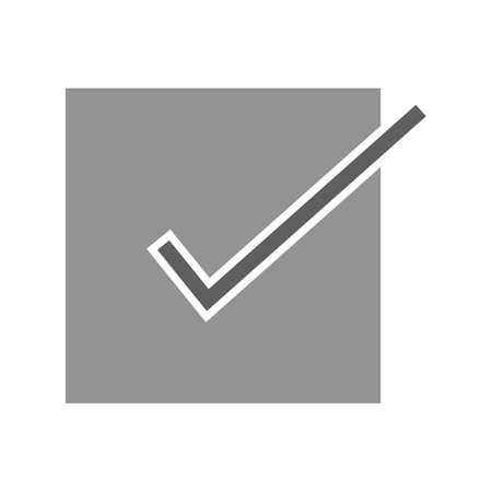 Checklist, tickmark, document icon vector image. Can also be used for ecommerce, shopping, business. Suitable for web apps, mobile apps and print media. Illusztráció