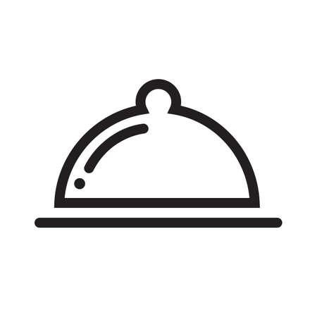 Voedsel, diner, lunch, ontbijt pictogram vector afbeelding. Kan ook worden gebruikt voor e-commerce, winkels, bedrijven. Geschikt voor web-apps, mobiele apps en gedrukte media.