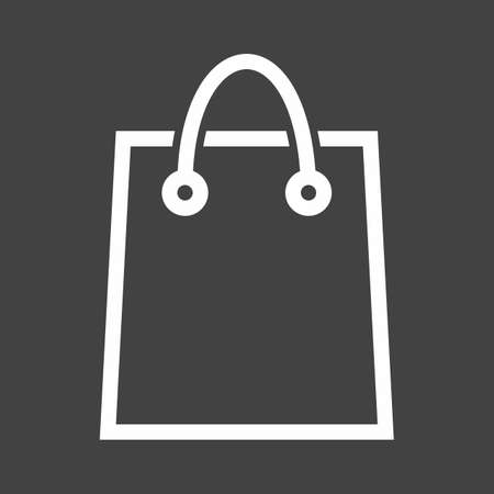 Bag, shopping, package, gift icon vector image. Can also be used for eCommerce, shopping, business. Suitable for web apps, mobile apps and print media.