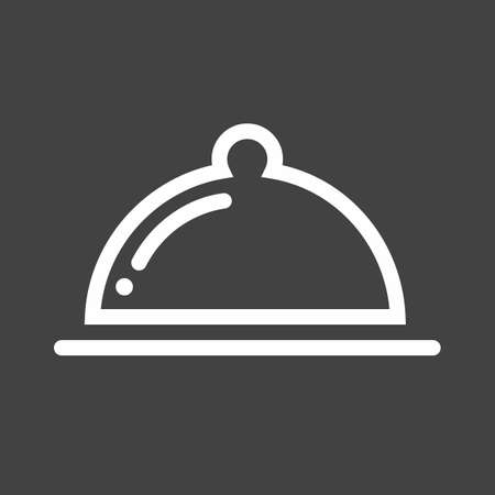 Voedsel, diner, lunch, ontbijt pictogram vector afbeelding. Kan ook worden gebruikt voor e-commerce, winkels, bedrijven. Geschikt voor web apps, mobiele apps en gedrukte media. Stock Illustratie
