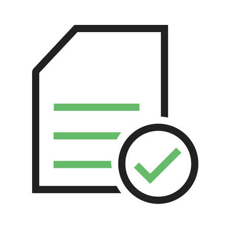 affirmative: Checklist, items, task, list, document icon vector image. Can also be used for eCommerce, shopping, business. Suitable for web apps, mobile apps and print media.