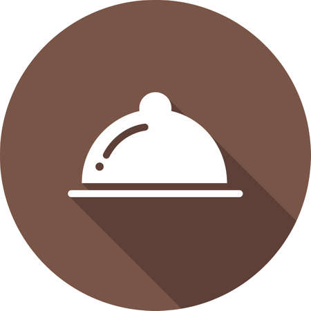 eatable: Food, dinner, lunch, breakfast icon vector image. Can also be used for eCommerce, shopping, business. Suitable for web apps, mobile apps and print media. Illustration