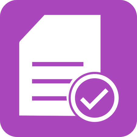 used items: Checklist, items, task, list, document icon vector image. Can also be used for eCommerce, shopping, business. Suitable for web apps, mobile apps and print media.