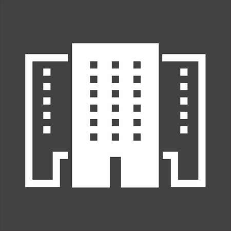 Shopping mall, store, shop, building icon image. Illustration