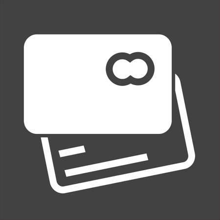 valid: Card credit, debit card, visa card icon vector image. Can also be used for eCommerce, shopping, business. Suitable for web apps, mobile apps and print media. Illustration
