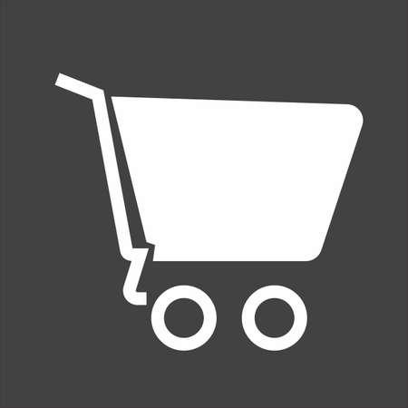 empty trolley icon