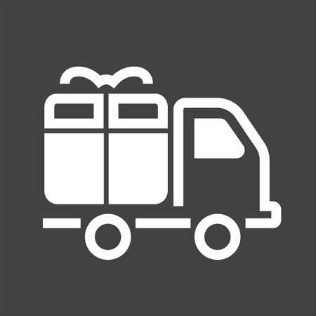 delivery icon image.  Illustration