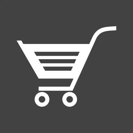 unlocked: Cart, trolley, unlocked, basket icon image.