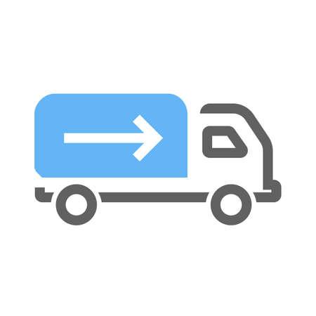 lorry icon image. Illusztráció