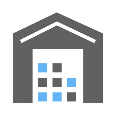 Store, shop, building, shopping mall icon image.