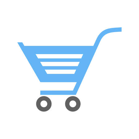 Cart, trolley, carrier, basket icon image.  向量圖像