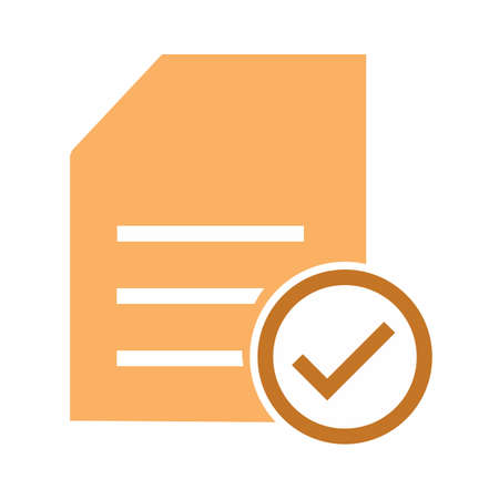 Checklist, items, task, list, document icon vector image. Can also be used for eCommerce, shopping, business. Suitable for web apps, mobile apps and print media.