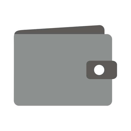 sign holder: Wallet, purse, leather, money holder icon vector image. Can also be used for eCommerce, shopping, business. Suitable for web apps, mobile apps and print media. Illustration