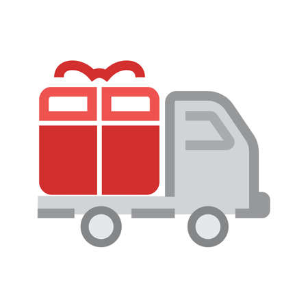 Truck, transport, service, delivery icon vector image. Can also be used for eCommerce, shopping, business. Suitable for web apps, mobile apps and print media. Stock Vector - 38680111