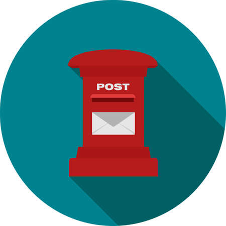 Letterbox, post box, post, postal service icon vector image. Can also be used for communication, connection, technology. Suitable for web apps, mobile apps and print media.