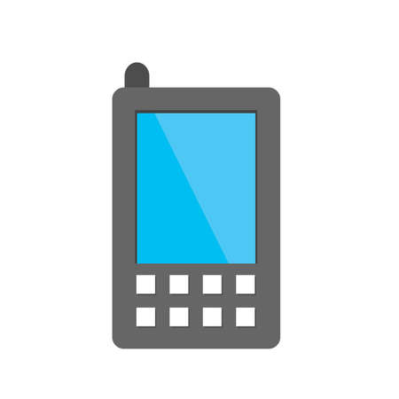 Mobile, mobile phone, device icon image.