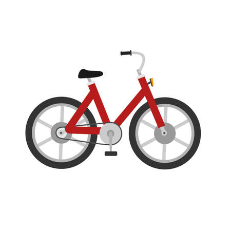 two wheeler: Bicycle, cycle, two wheeler, transport icon image.