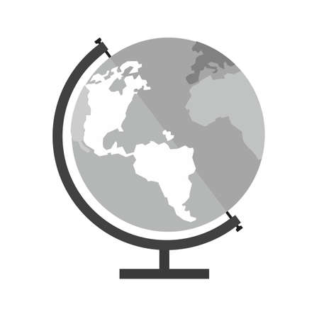 Globe earth world map icon image royalty free cliparts globe earth world map icon vector image can also be used for gumiabroncs Gallery