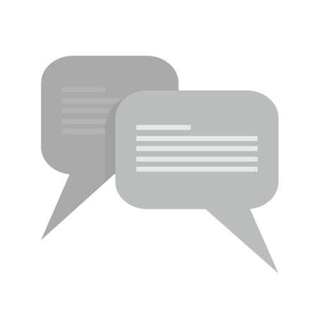 メッセージ、チャット、泡、テキスト アイコン イメージ。