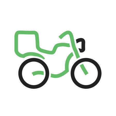 courier: Bike courier icon image. Illustration
