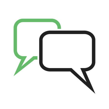 Message, chat, bubbles, text icon image.