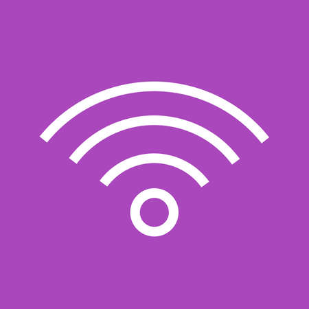 wireless: wireless signals, connectivity icon image.