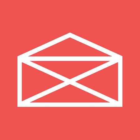 Mail, envelop, letter, post icon image.  Ilustracja