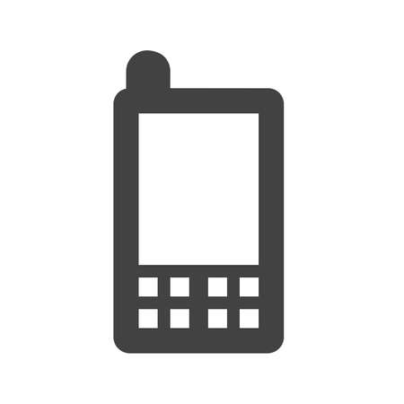 Mobile, mobile phone, device icon vector image. Can also be used for communication, connection, technology. Suitable for web apps, mobile apps and print media. Stock fotó - 38824701