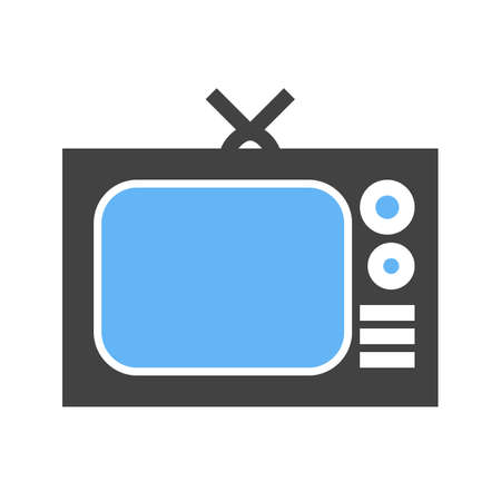 Television screen, display, broadcast icon vector image. Can also be used for communication, connection, technology. Suitable for web apps, mobile apps and print media.