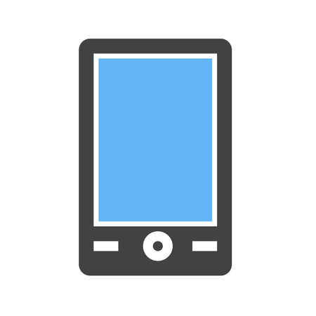 mobile communication: Mobile, mobile phone, smart device icon vector image. Can also be used for communication, connection, technology. Suitable for web apps, mobile apps and print media.