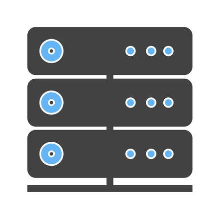 Server, lien, système, image vectorielle icône informations. Peut aussi être utilisé pour la communication, connexion, technologie. Convient pour les applications Web, des applications mobiles et les médias d'impression. Banque d'images - 38903448